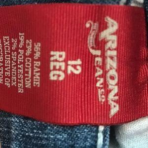 Arizona Jean Company Bottoms - Jeans with pocket art Arizona Girls Size 12